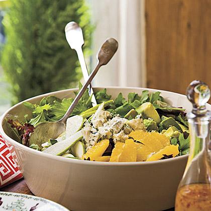 Basil-and-Blue Cheese Salad