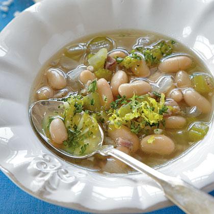 White Bean Soup with Gremolata