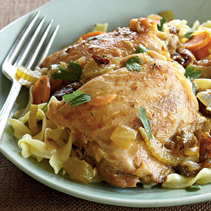Bistro Braised Chicken Recipe | MyRecipes