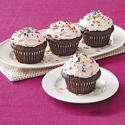 Double-Chocolate Cupcakes Recipe
