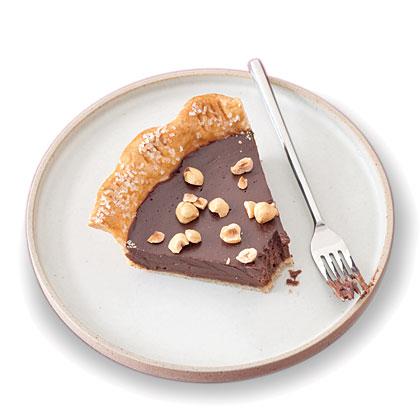 chocolate-nut-pie