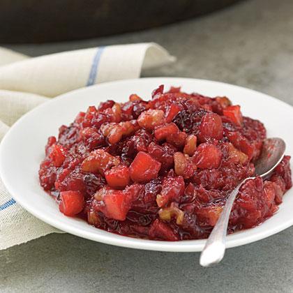 Cranberry, Apple, and Walnut SauceRecipe