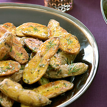 Grilled Fingerlings with Dill Recipe