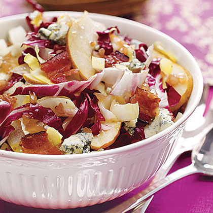 Harvest Salad with Bacon Vinaigrette