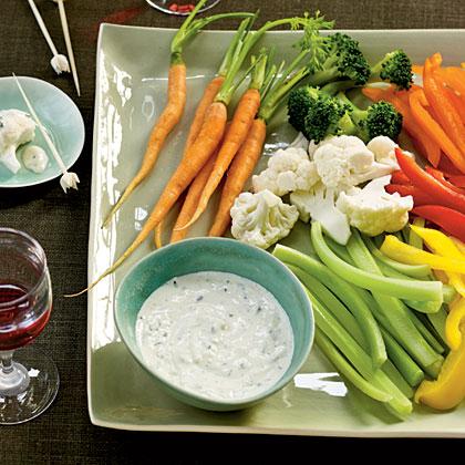 Creamy Garlic-Herb Dip