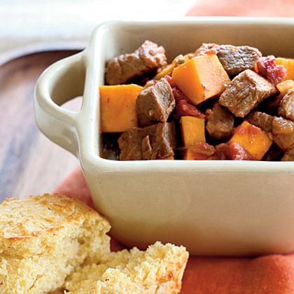 Stewed Pork and SquashRecipe