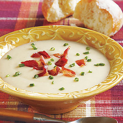 Creamy Potato Soup with BaconRecipe