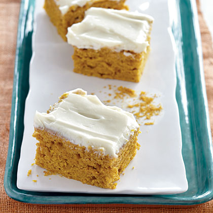 Frosted Pumpkin CakeRecipe