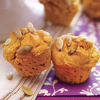 Mini Spiced Pumpkin Muffins