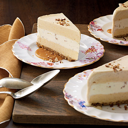 Pumpkin Ice Cream Torte Recipe