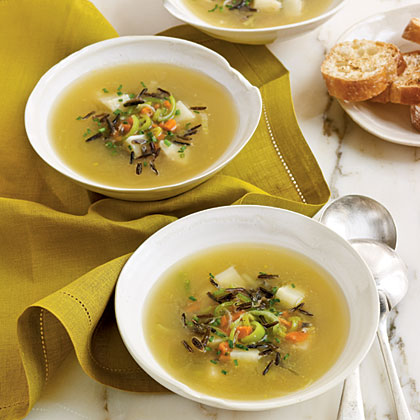 Wild Rice and Celery Root Soup Recipe