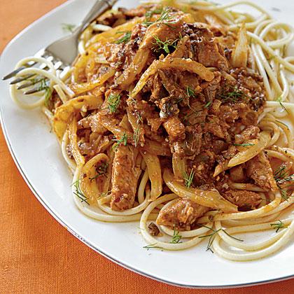 Fennel-Sardine Spaghetti Recipe