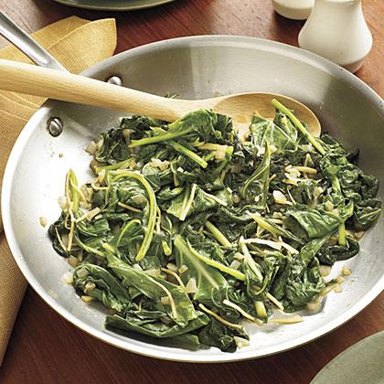 Sautéed Greens Recipe