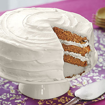 Spice Cake with Cream Cheese FrostingRecipe