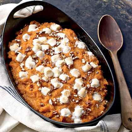 Maple-Pecan Sweet Potatoes