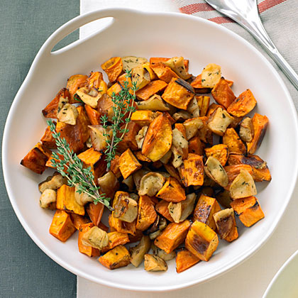 Roasted Sweet Potatoes And Les