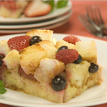 Berry Delite Bread Pudding Recipes