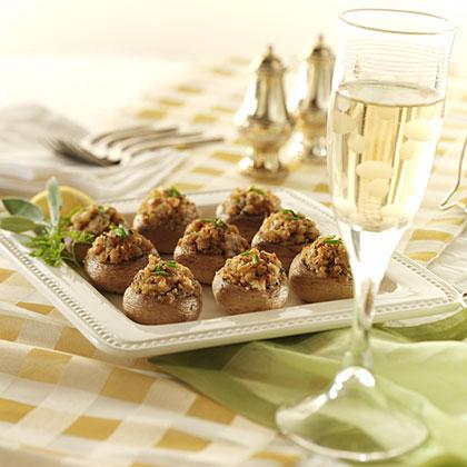 Italian-Style Stuffed Mushroom Recipes