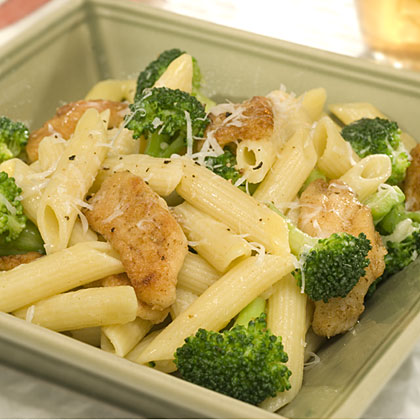 Penne with Chicken & Broccoli Recipes Recipe
