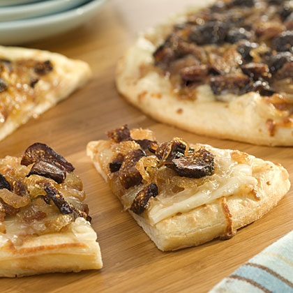 Caramelized Onion & Fig Mini Pizza Recipes