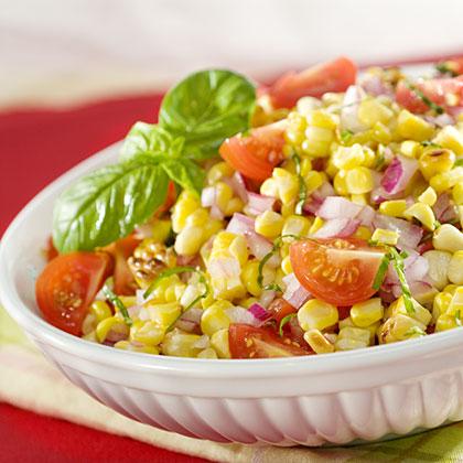 Grilled Corn & Tomato Salad Recipes
