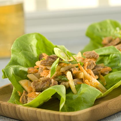 Asian Pork Lettuce Wrap Recipes