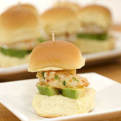 California-Style Shrimp Sliders Recipes