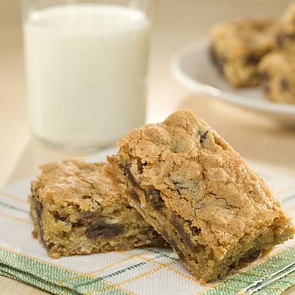 Oatmeal-Raisin Snack Bar Recipes Recipe