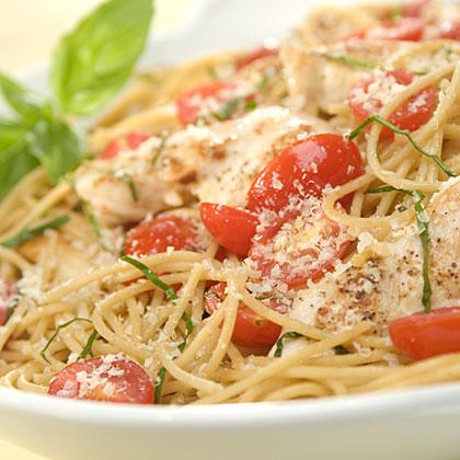 Chicken & Basil Pasta Recipes