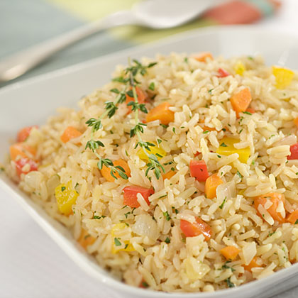 Veggie Brown Rice & Orzo Pilaf Recipes