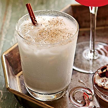 Holiday Milk Punch Recipe | MyRecipes