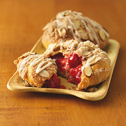Cherry-Almond Streusel Danish Recipes