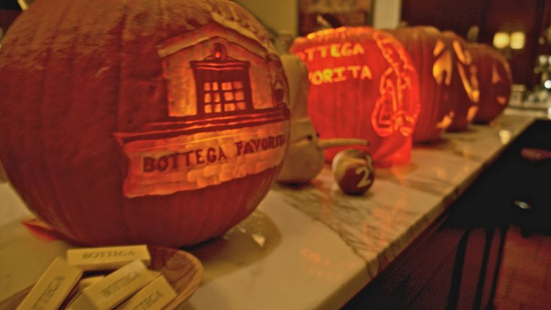 A pumpkin carving contest, then roast & cook the rest. How Foodimentary!