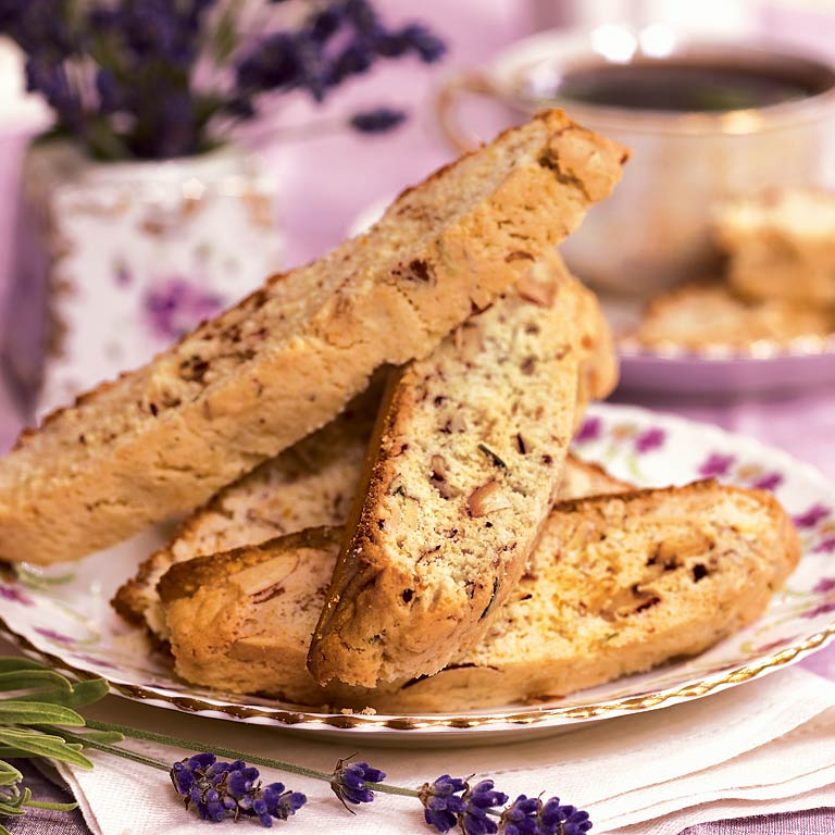 Biscotti with Lavender and OrangeRecipe