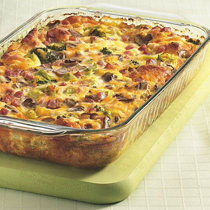 Ham 'n' Cheese Omelet Bake Recipes