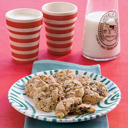 Pistachio-and-Cherry Cookies