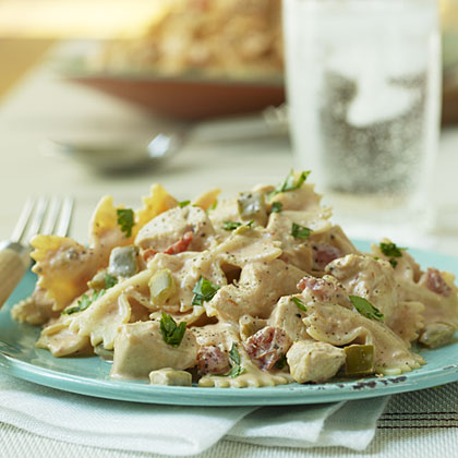 Mexican Bow-tie Pasta with Chicken Recipe