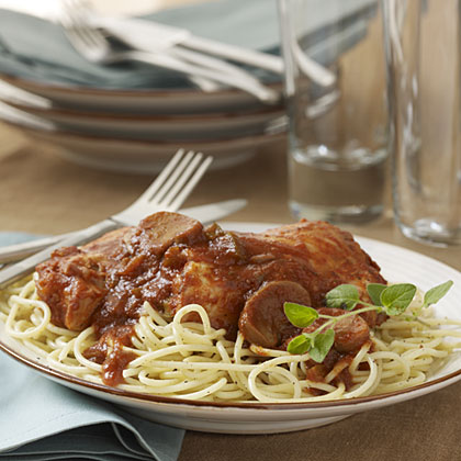 Slow-Cooker Chicken CacciatoreRecipe