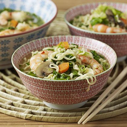 Thai Shrimp Noodle Soup Recipe