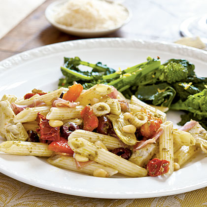 <p>Antipasto-Style Penne</p>