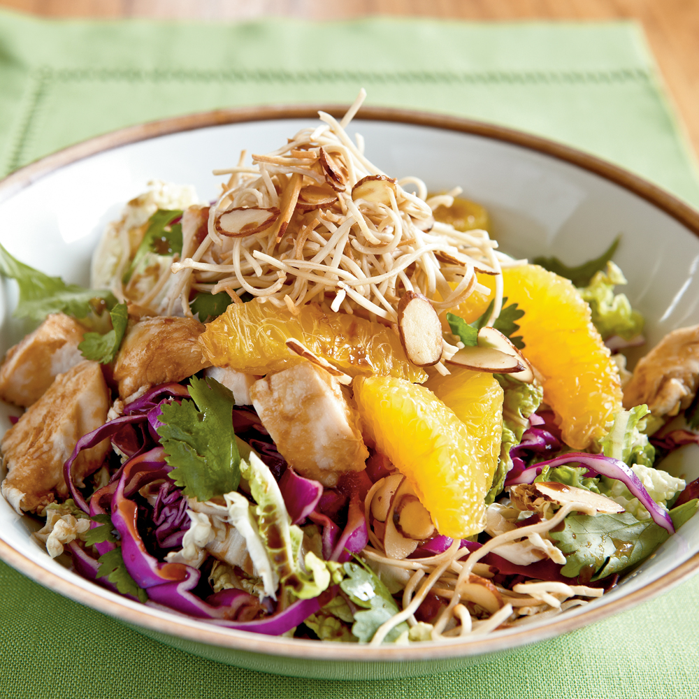 Asian Chicken Salad Recipe | MyRecipes