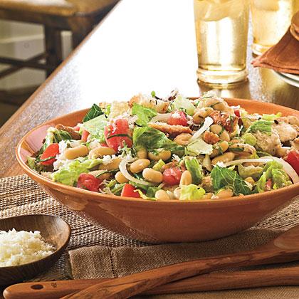 Tomato, Bean, and Bread Salad