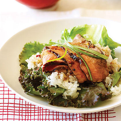 Korean Beef Wraps Recipe