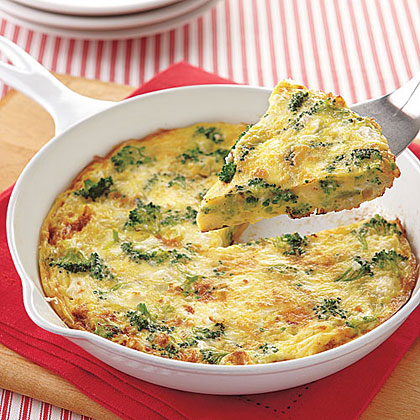 Broccoli and Feta Frittata