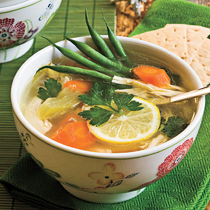 Lemon-Chicken Soup