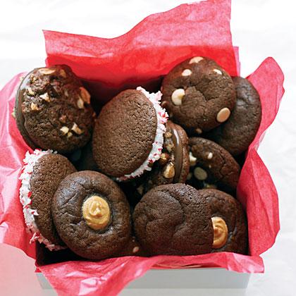 Chocolate Peanut Butter Thumbprint CookiesRecipe