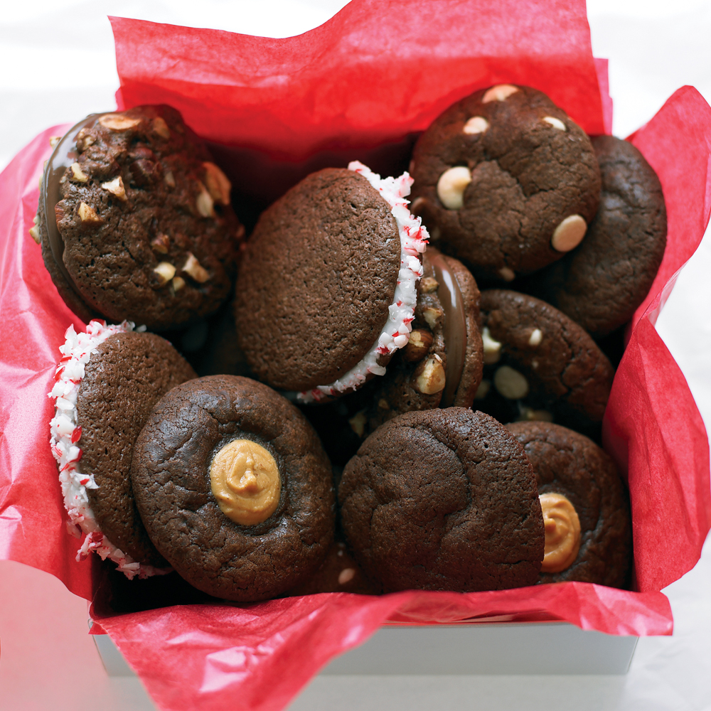 Chocolate Peppermint Patty Cookies Recipe | MyRecipes