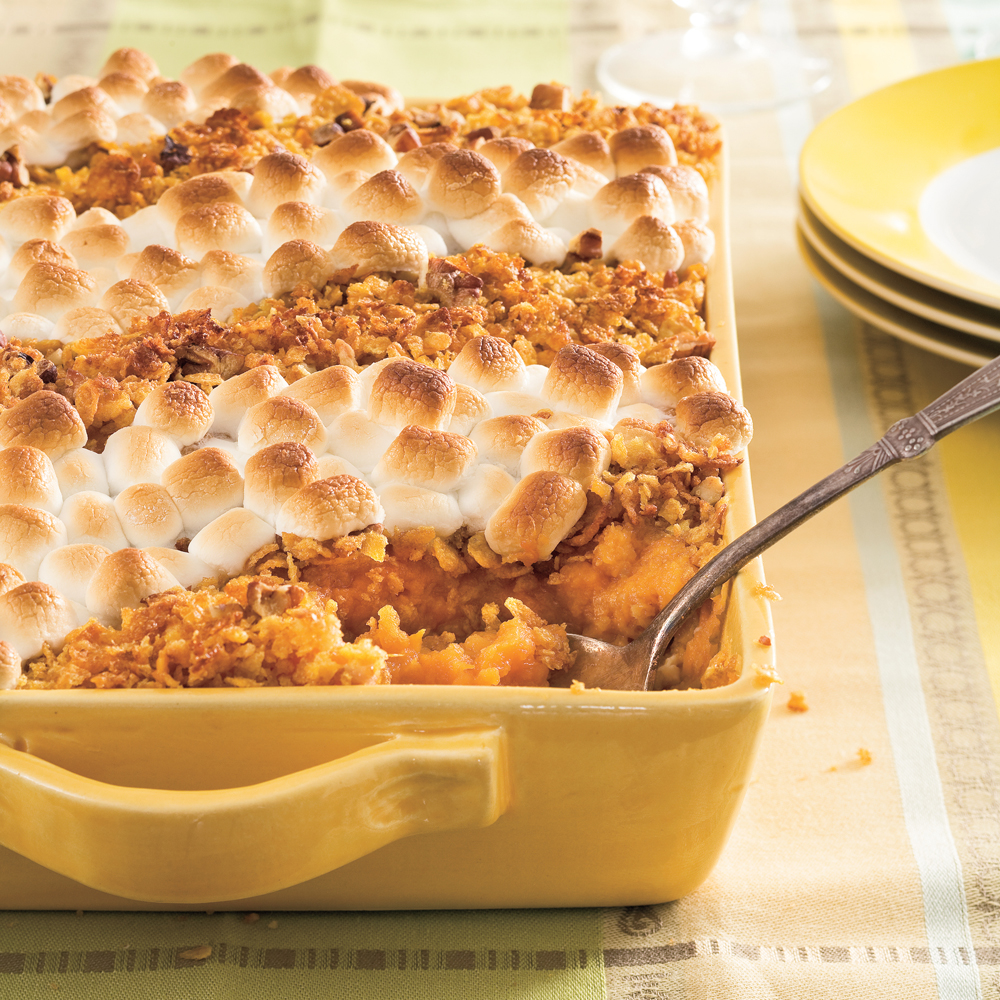 <p>Classic Sweet Potato Casserole</p>