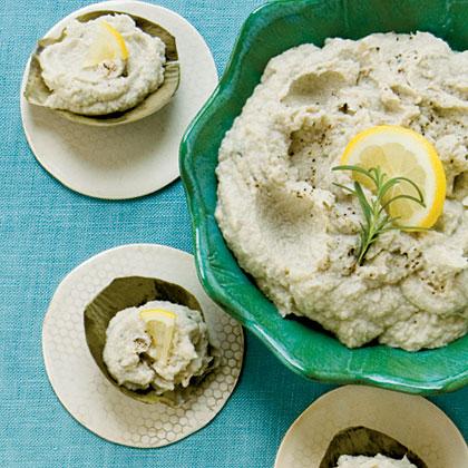 Cod, Artichoke, and White Bean Dip