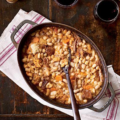 Duck And Sausage Cassoulet Recipe Myrecipes